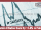 Nigeria's Inflation Soars By 11.4% In February
