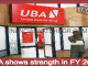 UBA shows strength in FY 2015