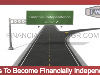 Ways To Become Financially Independent