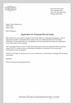 virginia tech career services cover letters