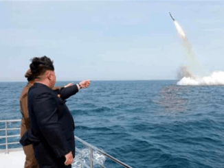 North Korea fires submarine-launched missile