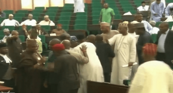 Rowdy Scene As House holds Special Session On Petrol Price Increase