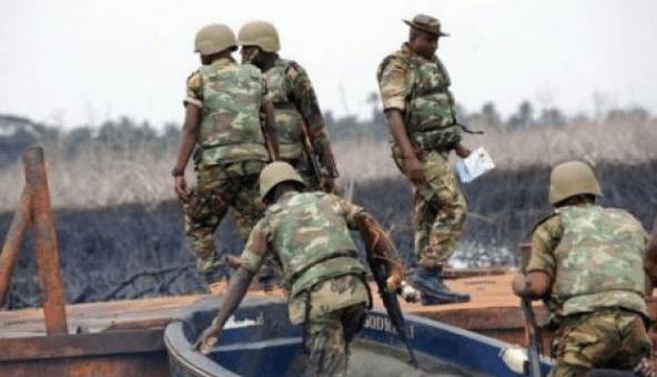 Soldiers foil attack on Agip facility, engage militants in gun battle