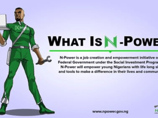 "FG Introduces Job Creation Initiative ""N-Power"""
