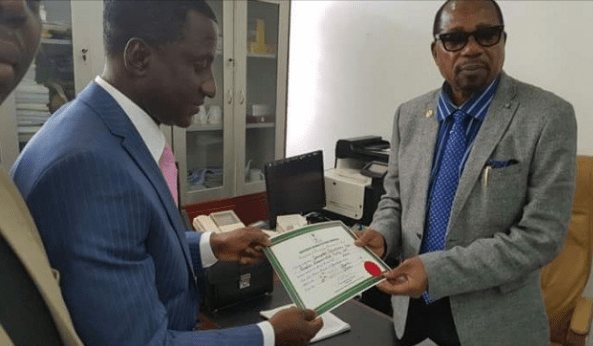 INEC issues Ogah certificate of return as Abia gov