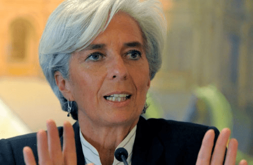 IMF Managing Director Ms Chritine Lagarde