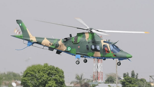 Nigeria Air Force strikes at Boko Haram location in Northern Borno