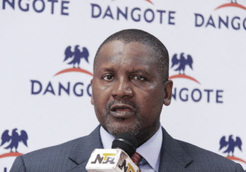 Dangote drops in world's richest ranking