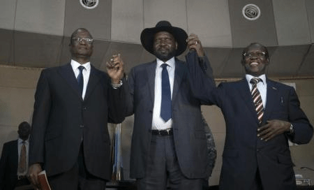 U.N. warns South Sudan president over replacement of rival