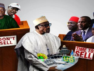 Sale of national assets