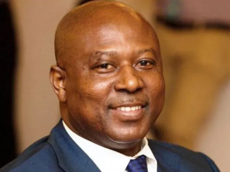 Governor of Ghana's central bank, Abdul-Nashiru Issahaku