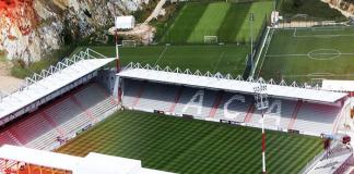 Stade François Coty located in Ajaccio