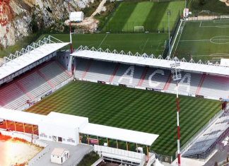 Stade François Coty located in Ajaccio