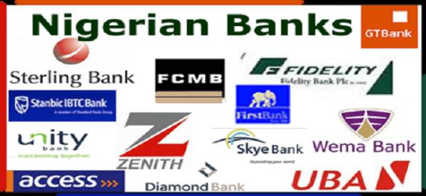 LIST OF NIGERIAN BANK WEBSITES