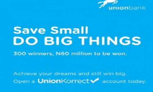 UNION BANKS UnionKorect Promo