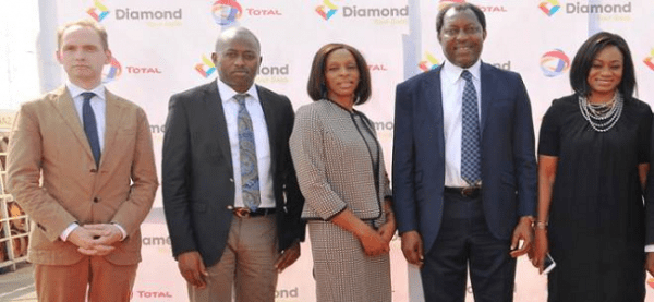 DIAMOND BANK AND TOTAL PARTNER TO DEPLOY ATM MACHINES TO STATIONS