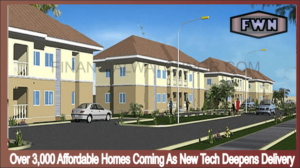 Over 3,000 Affordable Homes Coming As New Tech Deepens Delivery