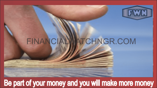 Be part of your money and you will make more money