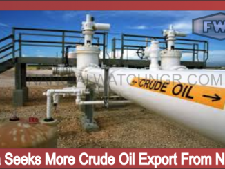 China Seeks More Crude Oil Export From Nigeria