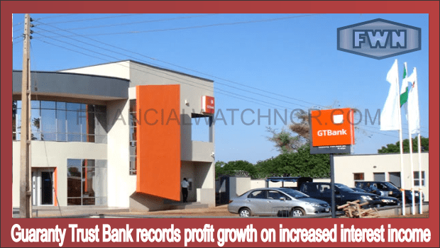 Guaranty Trust Bank records profit growth on increased interest income