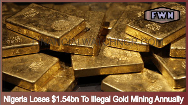 Nigeria Loses $1.54bn To Illegal Gold Mining Annually