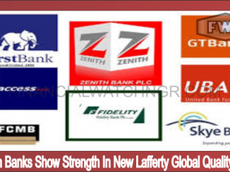 Nigerian Banks Show Strength In New Lafferty Global Quality Rating