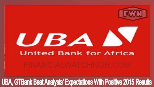 UBA GTBank Beat Analysts' Expectations