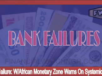 W African Monetary Zone Warns On Systemic Crises