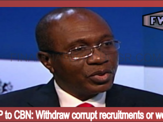 Withdraw corrupt recruitments or we'll sue