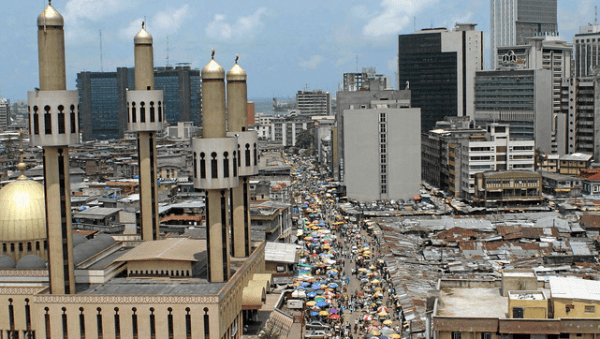 8.7 of Nigeria's GDP Contribute by E commerce Telecoms others