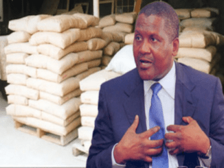 Image result for Dangote Dumps South African Cement Firm Deal