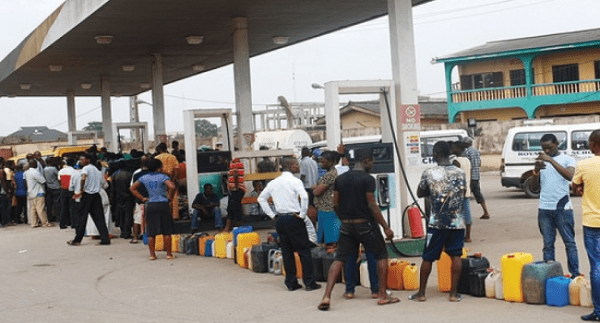 Fuel scarcity, Snake venom and Jerry cans