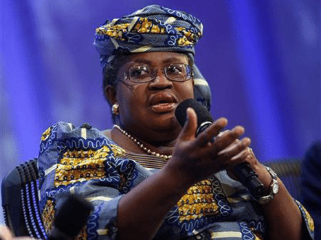 former Minister of Finance and Coordinating Minister for the Economy, Dr. Ngozi Okonjo-Iweala