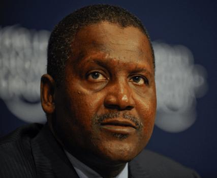 Oshiomole Extols Dangote for creating jobs for Nigerians