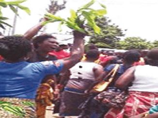 Protest in Asaba over alleged killings by Fulani herdsmen