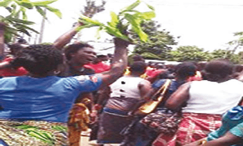 Protest in Asaba over alleged killings by Fulani herdsmen