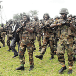 Army Trains Troops On Counter Terrorism