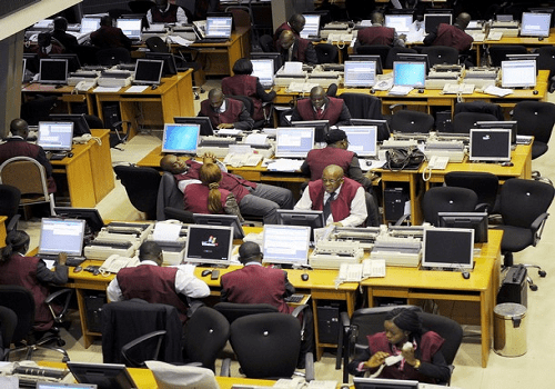 Nigerian stocks near 5-month high after CBN FX shift