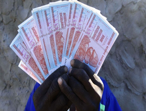 Zimbabwes central bank says to limit cash withdrawals to ease shortages