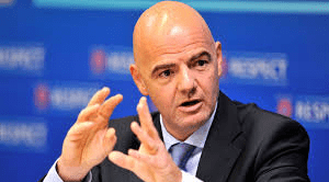 FIFA chief wants two more Africa slots in expanded World Cup