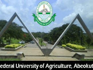FUNAAB 2016 Admission Screening Exercise Date Procedure Announced