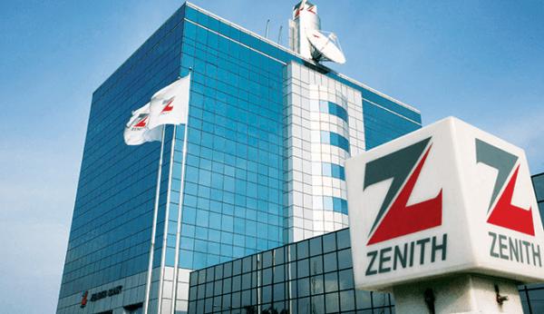 zenith bank's 2017 gross earning
