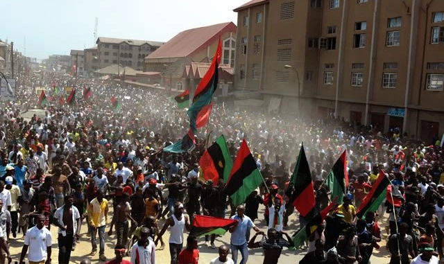 Biafra Police Army Others Storm Abia Over Ipobs Sit At Home