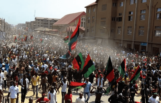 Biafra: Police, Army, others storm Abia over IPOB's sit-at-home order