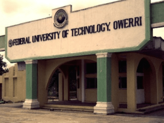 FUTO Postgraduate form 2018/2019 is out