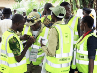 Fake NYSC Corps Member Absconds with INEC Card Reader In Edo