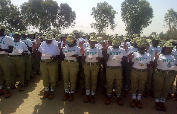 NYSC 2016 Batch B Stream II corps members sworn in for service