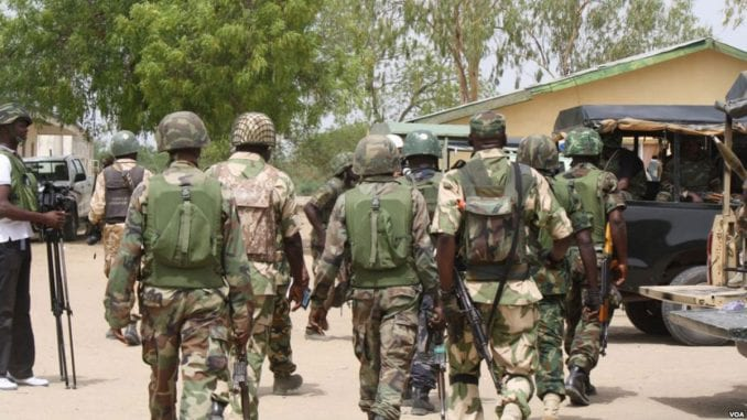 Armed Forces Day: Soldiers embark on environmental sanitation
