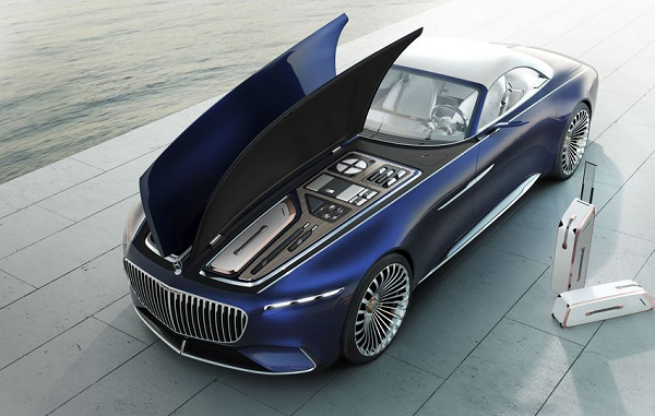 Unveiled: New Mercedes-Maybach 6 Convertible concept