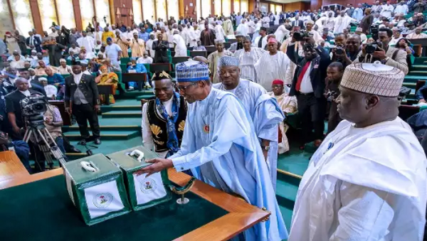 Presidency confirms receipt of 2018 Budget from NASS